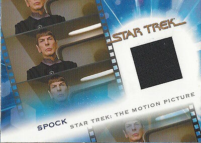THE COMPLETE STAR TREK MOVIES - COSTUME MC2 Spock