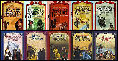 18 Audiobooks - David Eddings Majority Books Collection 18 books mp3 Unabridged