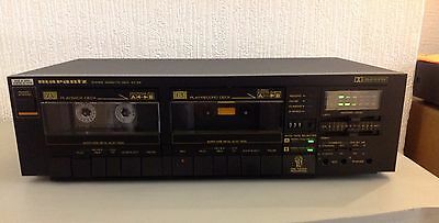Marantz SD 155 Twin Cassette Tape Deck, Fully Working - In Good Condition