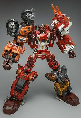 Warbotron Wb03 Computron Complete Set Of 5 Transformers Combiner Masterpiece New