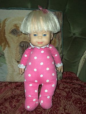 Drowsy Doll, Battery Operated, Re-Rooted