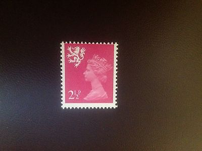 Great Britain 1971 Scotland 21-2p Phosphor Omitted SGS14ey MNH