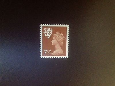 Great Britain 1971 Scotland 71/2p Phosphor Omitted SGS25ey MNH