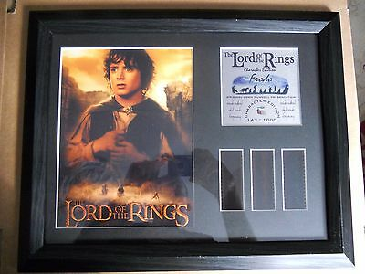 Lord of the Rings Characters Edition Frodo 35mm Film cell Photo 143/1000