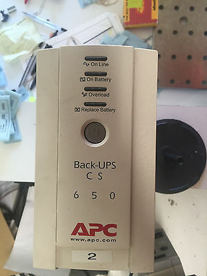 APC CS650 Battery Back Up Unit