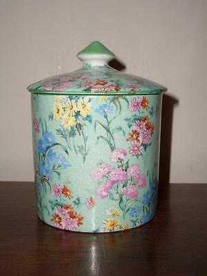A Shelley Melody Jam Pot And Lid, Circa 1930's, Fully Marked.