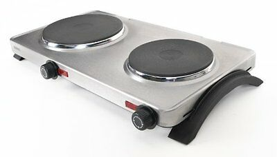 Duronic HPS2 2500W Double Boiling Table Top Hob