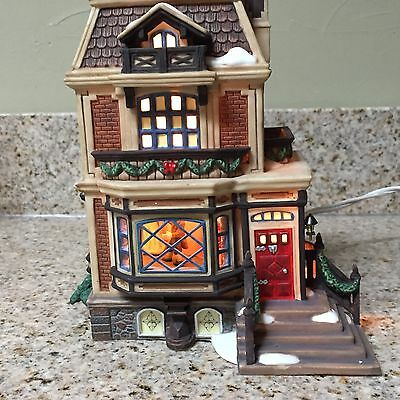 Dept 56 FRED HOLIWELLS HOUSE A Christmas Carol Dickens Village 58492 In Box E2