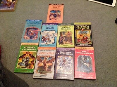 Dungeons And Dragons Book Bundle ,Nine Books