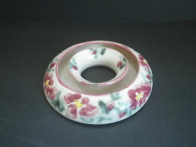 Clouds Pottery Folsom California Posy Ring Dog Rose 1990