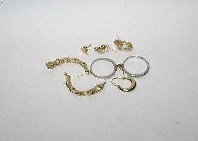 Yellow and White 14k Gold Mixed Lot for Use or Scrap