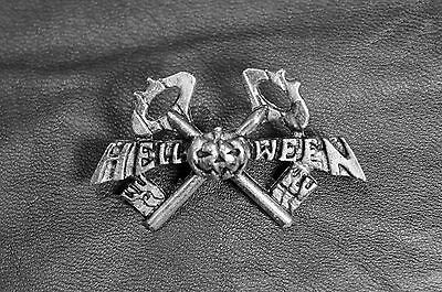 HELLOWEEN-the keeper of the seven keys pin badge official ALCHEMY GOTHIC vintage