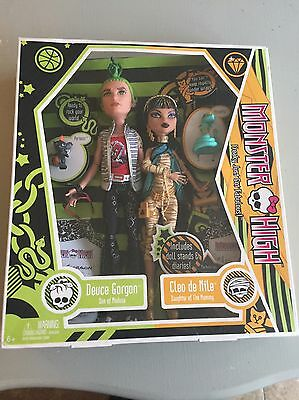 Monster High Original 1st Edition Cleo De Nile And Deuce Gorgon Twin Pack