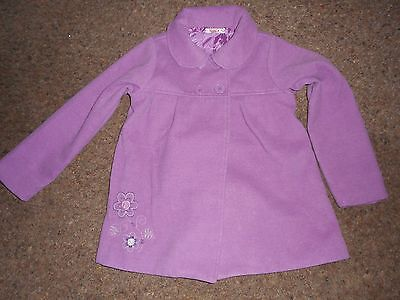 Girls wool coat age 4/5 years