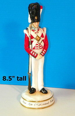 MICHAEL SUTTY PRIVATE Fifth FUSILIERS 1836 Northumberland PORCELAIN FIGURINE