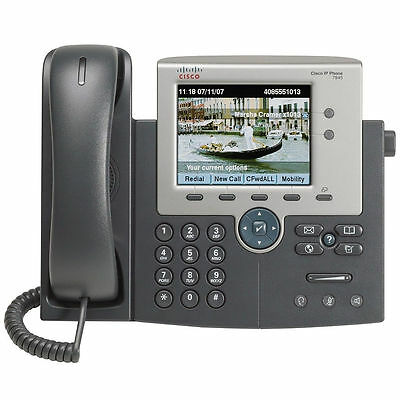 Cisco 7945 CP-7945G unit & handset Used VoIP Phone for Cisco Unified Comms