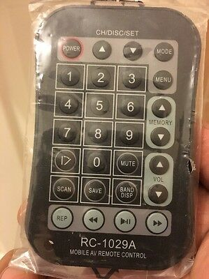 Rc-1029A Mobile Av Remote Control Free Post Genuine