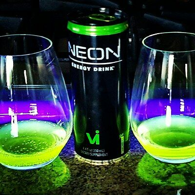 "New! NEON Energy Drink *** As Seen in ""Five More Hours"" by Chris Brown *** 250ml"