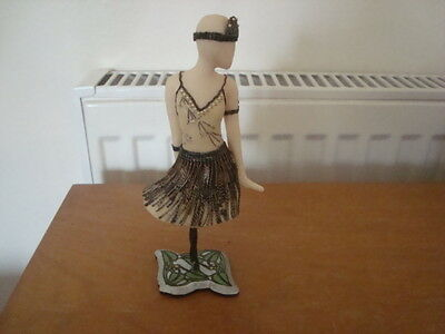 """The Latest Thing """"Jazzing it up"""" Mannequin Figure by Stacey Bayne  - Handmade"""