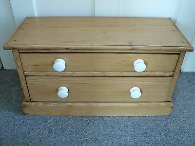 Vintage Pine Mini Chest Of Drawers