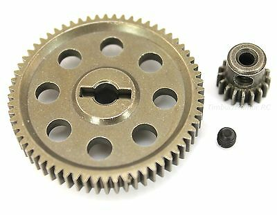 HSP 11184 11119 Diff Metal Spur Gear 64T & Pinion 17T for Redcat Volcano EPX/PRO