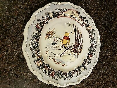 Royal Doulton Winnie The Pooh Plate *the Woozle*