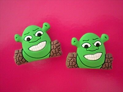 Croc Clog Jibbitz Charm Shoe Plug Button Accessories Fit WristBand Sandal Shrek