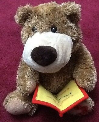 Boots Story Time Bear Soft Plush Toy Gorgeous ❤️ Tells A Story & Sings ❤️