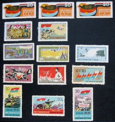 Vietnam (South NFL) 1963 - 67: All stamps issued