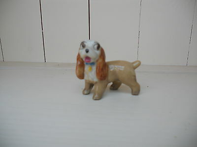Vintage Wade Lady figurine from the Lady and the Tramp Disney film