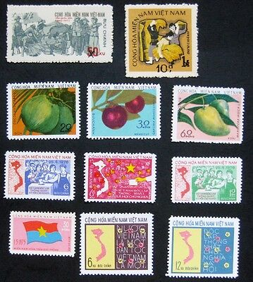 Vietnam (South NFL) 1976: All stamps issued
