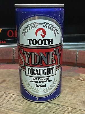 Tooth Sydney Draught. 375ml. Collector Beer Can
