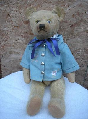 Antique Teddy Bear Jointed With Rods