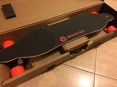 BOOSTED BOARD V2 DUAL PLUS EXTENDED BATTERY Longboard new neu