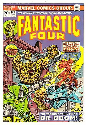 Fantastic Four #143 VG+ (4.5) Marvel Comic 1974