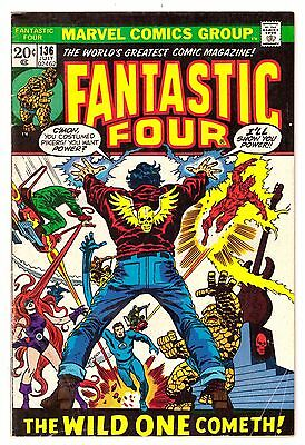Fantastic Four #136 GD+ (2.5) Marvel Comic 1973
