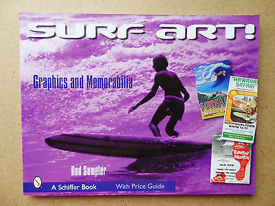 Surf Art Rod Sumpter Graphics And Memorabilia Price Guide Collecting Surf Book