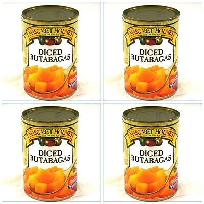 4 CANS MARGARET HOLMES DICED RUTABAGAS free cajun recipe creole turnips