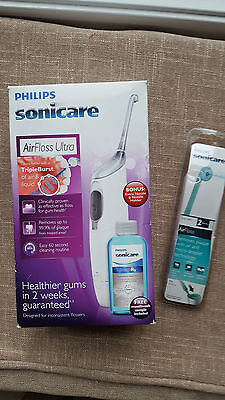 Philips Sonicare AirFloss Ultra Rechargeable=SEALED TIPS=OPEN BOX=FREE SHIPPING