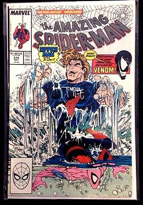 Amazing Spider-man #315 Hydro-Man appearance  Signed by TODD MCFARLANE   NM
