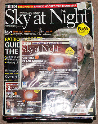 Sky at night magazine collection issues 1 - 20 with extra copies see listing