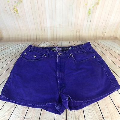 Vintage Levi's High Waisted Shorts Denim Jean Silver Tab Women's Baggy 34