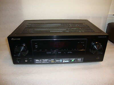 Pioneer VSX-524-K 5.1 Channel AV Reciever with 3D and 4K (No Remote)