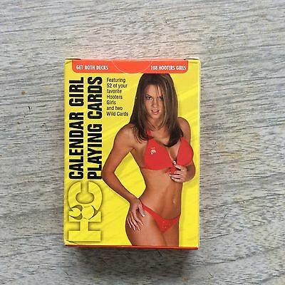 Hooters Calendar Girls Playing Cards - 11th Edition Series 1 & 2