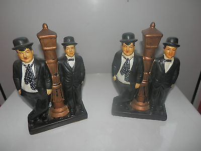 Laurel And Hardy Figures..  2 In Total