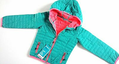New Girls Light Padded Hooded Jackets Bright Neon Girls Autumn Sizes