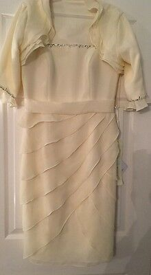 BNWT £295 On Tag! Mother Of The Bride/wedding Designer Outfit Size 12