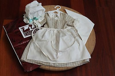 American Girl Doll Felicity Retired Work Gown/Outfit, Pleasant Company! EUC!