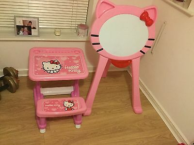 Hello kitty easel and and desk  childs