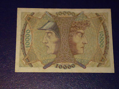 Germany - 10 000 Mark  Banknote 1923- Mannheim -Inflation - Very/extremely Fine